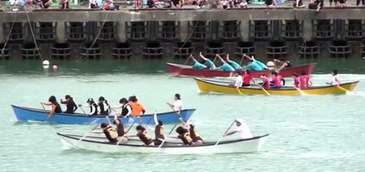 平成23年度 小湊港祭り 舟漕ぎ 女子の部決勝レース