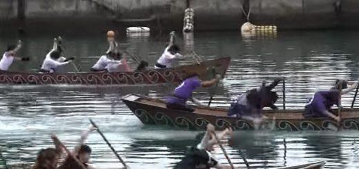 第23回 大和村ひらとみ祭り舟こぎ メラベの部 決勝 2014.8.30