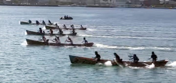 第50回-奄美まつり舟こぎ競争 一般の部 決勝