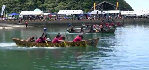第21回 大和村ひらとみ祭り 舟こぎ競争 メラベ(女子)の部 決勝